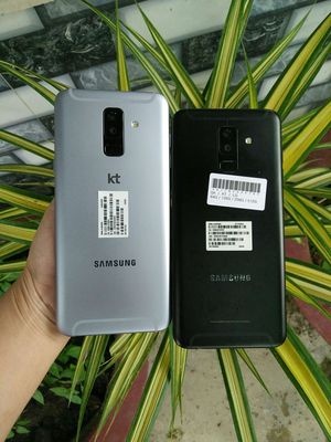 Samsung Galaxy A6 Plus Bạc