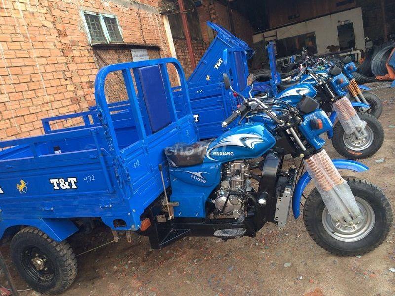 Xe ba gác (xe ba bánh) Nam Định 175cc mới 100%