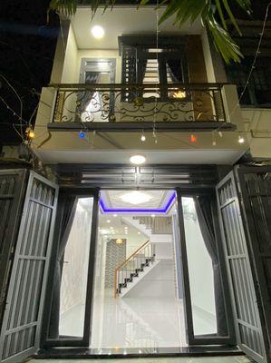 Bán nhà 1 trệt 1 lầu Nguyễn Văn Khối P9 GV 3.5x11m