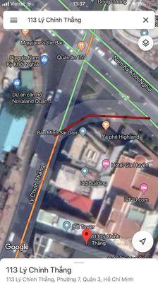Đất quận 3 - 330 m² Lý Chính Thắng 115 tỷ