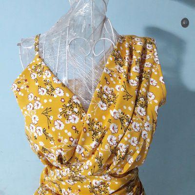 Đầm hoa Lụa Thái