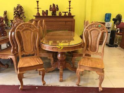 Bộ bàn ăn 8 ghế hàng đẹp giá rẻ