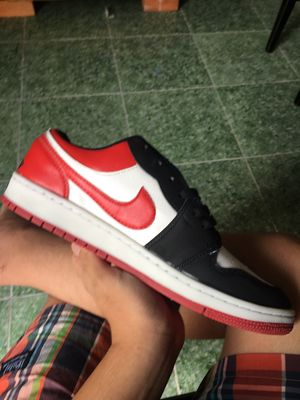 Cần pass đôi giày jordan 1 red low có fix