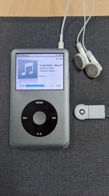 Apple Ipod giống Ibasso Walkman fiio, dễ ghép DAC