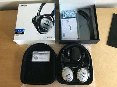 Tai nghe Bose QuietComfort 3, Noise Cancelling