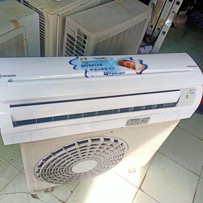 Máy lạnh Hitachi 1.0hp inverter Nhật mới 98%