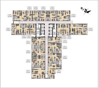 Chỉ từ 1,4tỷ căn hộ 33m2 mặt đường Láng