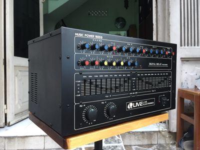 Ampli Karaoke nđ Hàn Quốc 1600B 650w chạy sò Mos-F