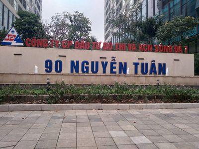 Bán liền kề thô khu nhà ở 90 Nguyễn Tuân ThanhXuân