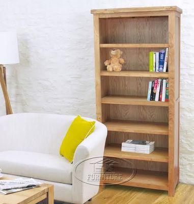 tủ sách gỗ sồi mỹ 6 tầng 90 x 1m8