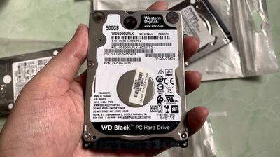 Ổ cứng HDD 500gb WD Black phiên bản cao cấp nhất.