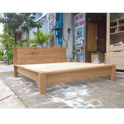 giường gỗ kiểu nhật Hàng xuất khẩu 1m6