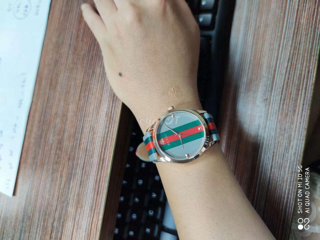 0982765680 - đồng hồ 3 sọc xanh lạ