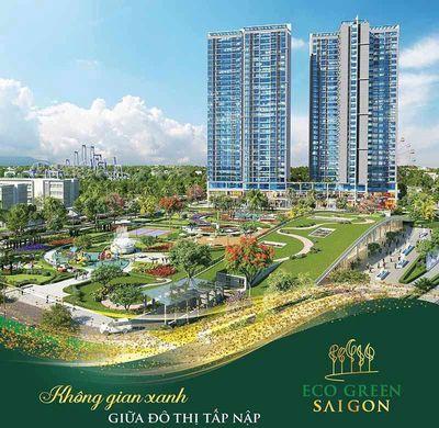 Căn hộ cao cấp - 2PN.3PN  Eco Green SG, Quận 7