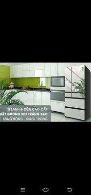 Tủ lạnh Panasonic inverter 589L NR-F603GT-X2. NEW