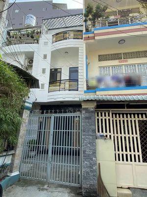 Nhà 2 lầu tuyệt đẹp hẻm xe hơi Huỳnh Tấn Phát, Q.7