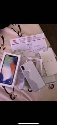 iPhone X 64gb chuẩn qtế VN/A tgdđ fpt