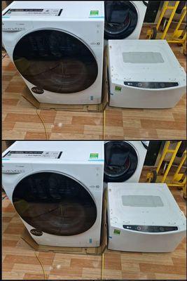 Giặt sấy LG 10,5kg khô hẳn ko cần phơi new 100%
