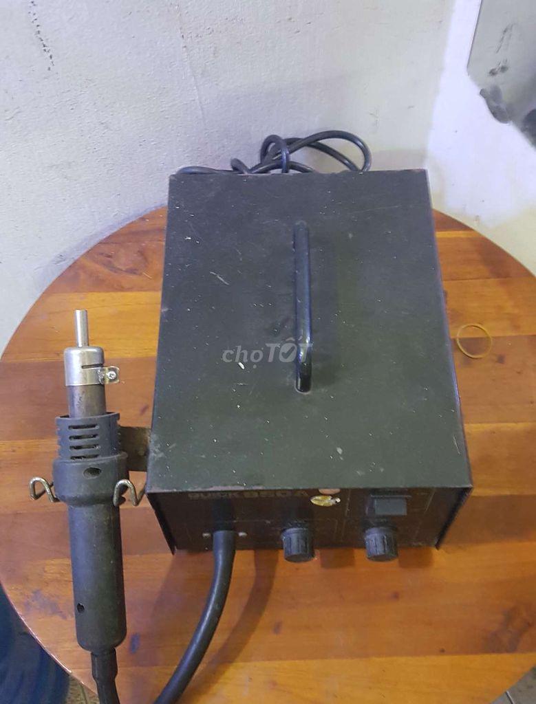 0834753573 - Máy khò hiệu QUICK 850A còn sử dụng tốt