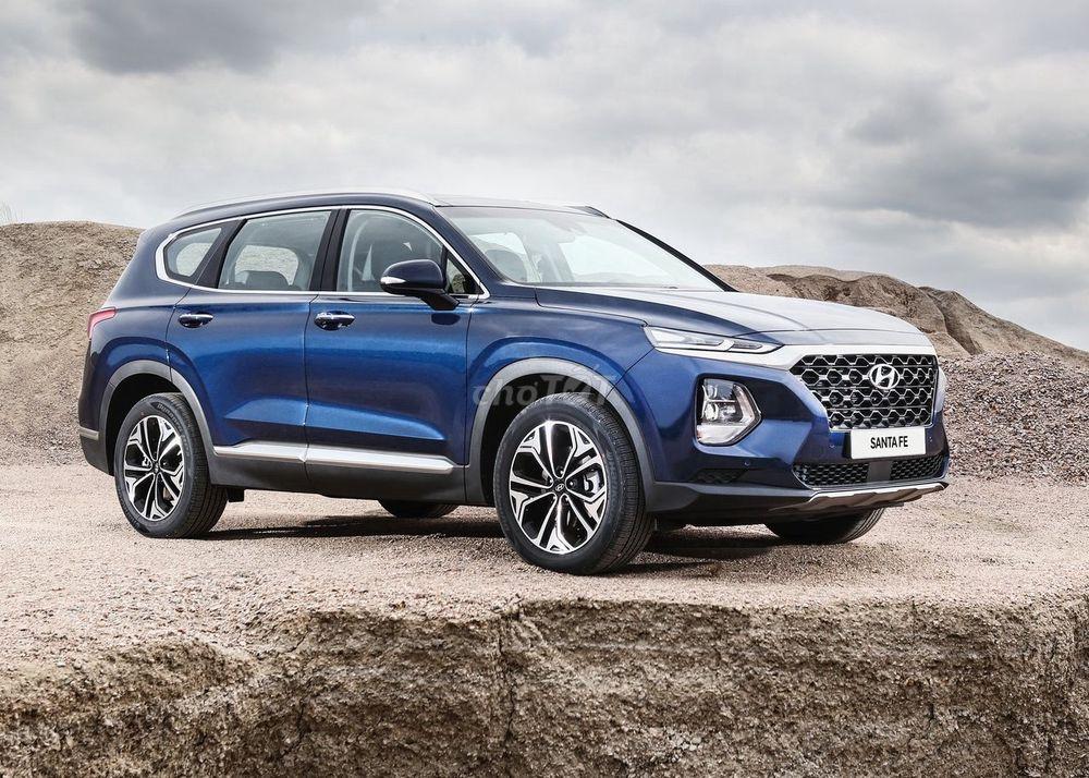 Hyundai SantaFe Dầu Cao Cấp, Đủ Màu Giao Xe Ngay