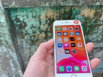iPhone 8 256G Silver 99% BH 6Tháng có Ship Cod