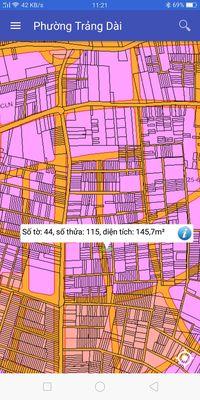 Đất khu phố 4c phường trảng dài TP B Hoà 148m2