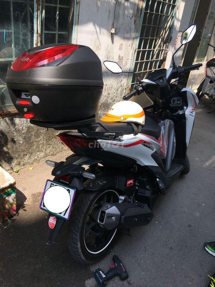 Combo thùng givi E250N và baga givi cho xe Vario
