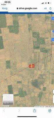 Đất sổ đỏ dt 6694m mặt đường Liên Huyện ra sân bay
