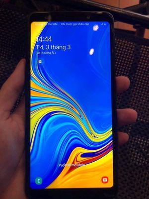 Samsung A7 xanh dương 4gb/64gb full chức năng