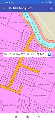 Đất Sổ Hồng 100m² (5x20) Hùng Vương, Trảng Bom