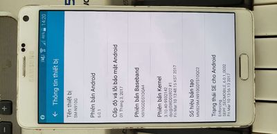 Samsung Galaxy Note 4 Trắng 32 GB