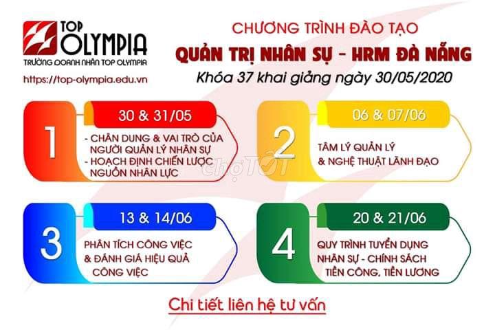 Khoá học HRM tại Đà Nẵng