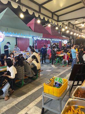 Mặt Bằng Kinh Doanh Tại Chợ Đêm Sunworld
