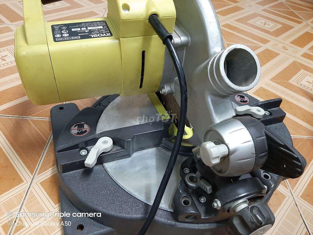0978257420 - Bán máy cắt nhôm ryobi Nhật lưỡi 210, 220V