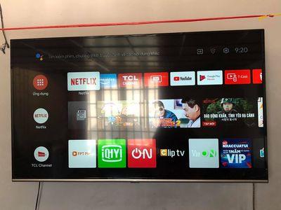 Tivi 55 inch chính hãng TCL - mới 90%