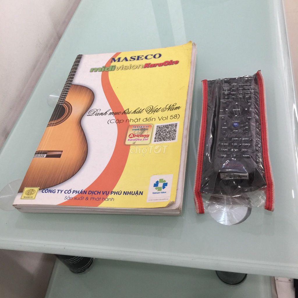 0979348653 - Đầu đĩa karaoke DVD Arirang 36M