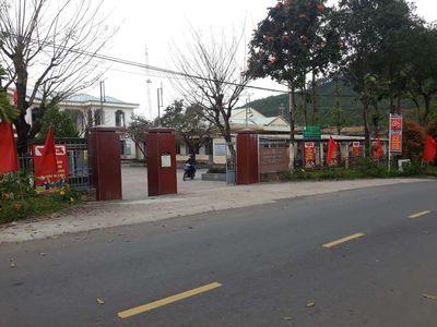 Bân đất vườn  đường lớn đh 10, ủy ban xã hoà phú
