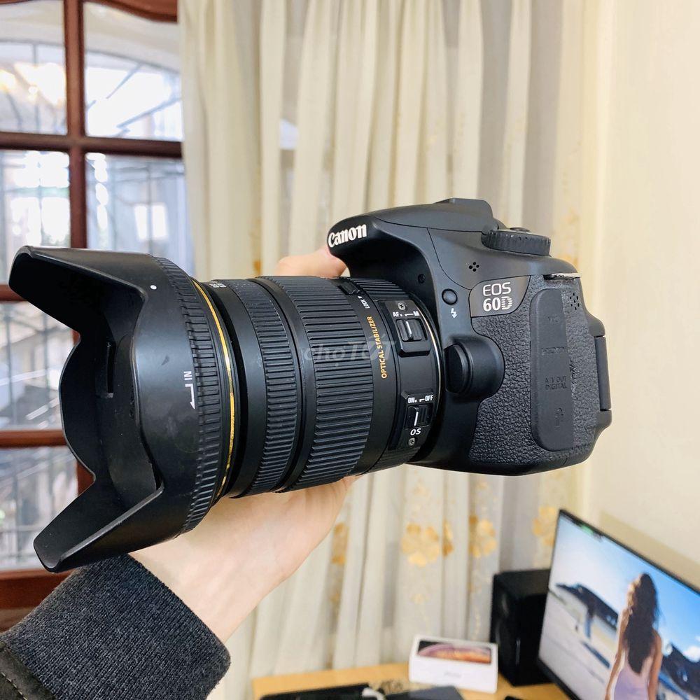 Canon 60D 8K shot và Lens Sigma17-50 f2.8