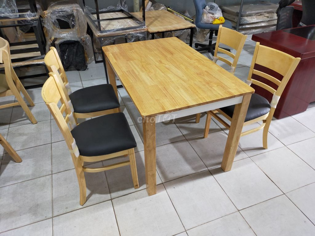 0868920921 - Thanh lý Bộ bàn ăn 4 ghế xuất khẩu mới 100% giá rẻ