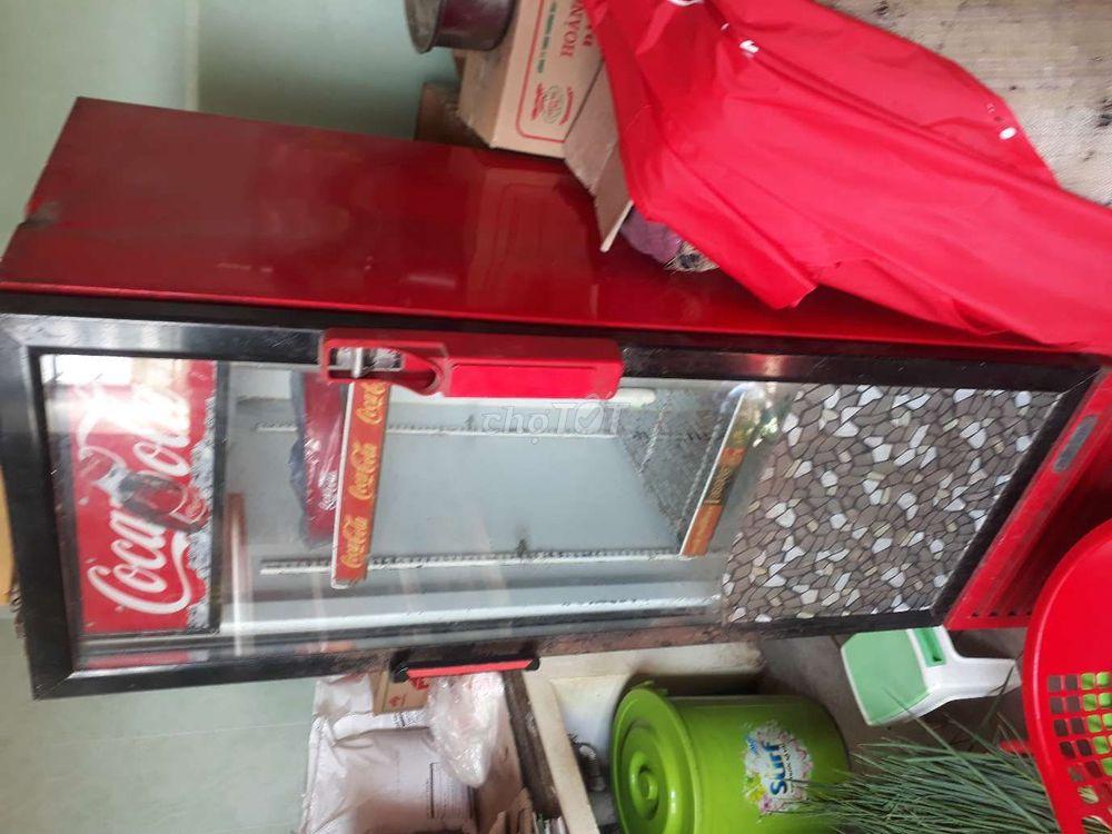 thanh lý tủ mát coca
