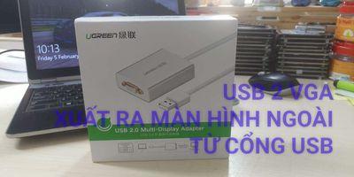 USB 2 VGA UGREEN