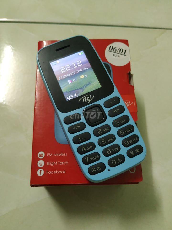 Điện thoại Itel 2 sim, fullbox, còn bảo hành TGDĐ