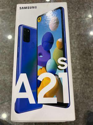 Bán Samsung A21S mới vừa dùng 1 ngày mới full hộp