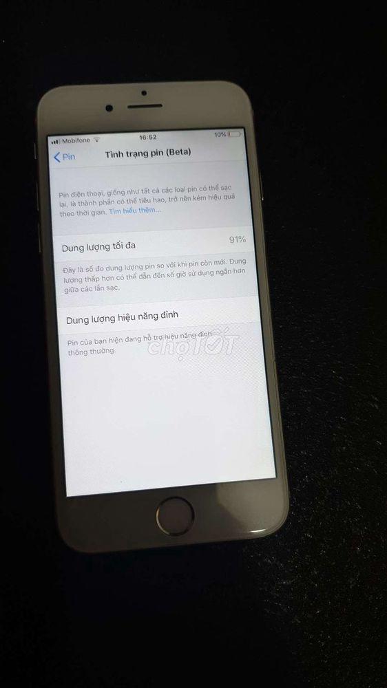 Bán cây IPhone 6 Trắng 128gb quốc tế usa