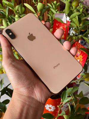iphone xsm 64gb quốc tế màu gold zin áp suất
