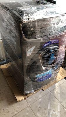 Máy giặc sấy Samsung 21kg FlexWash WR24M9960KV/SV