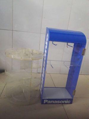 0373749216 - Kệ xoay mỹ phẩmvà hộp đựng đồ