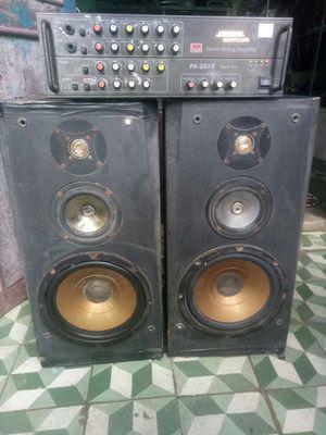 Dàn nghe nhạc karaoke Loa 25 amly 8 sò