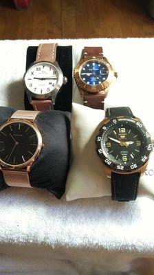 Thanh lý đồng hồ chính hãng nhật thụy sỹ