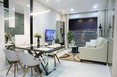 Căn Hộ Oriental Plaza 80m2__2PN__Đầy đủ nội thất.